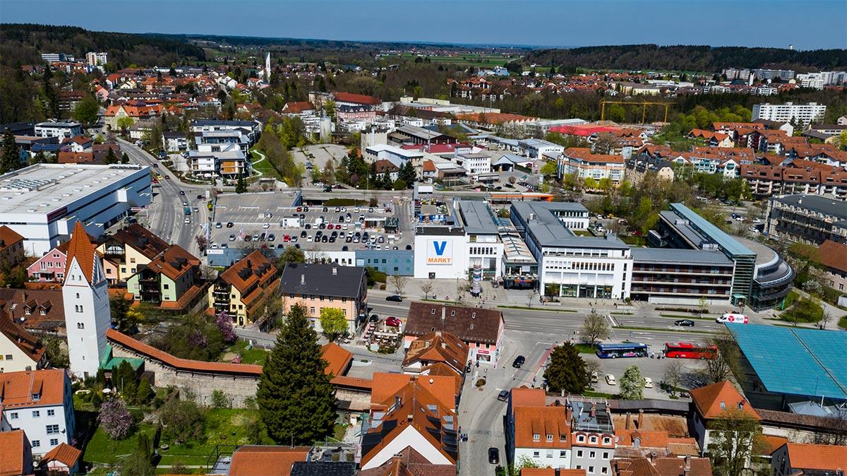 Buron-Center 225 m² Kaufbeuren